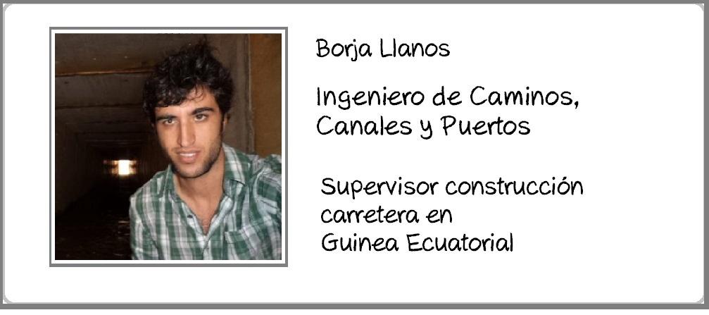 Borja Llanos perfil