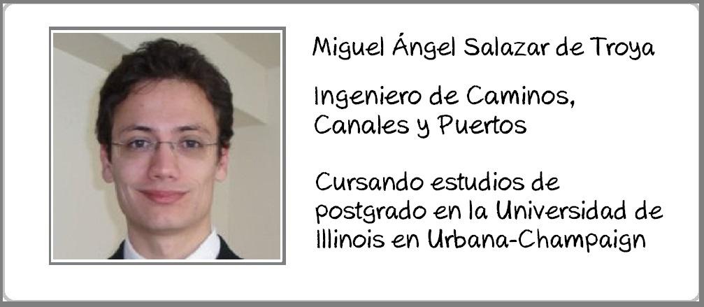 Miguel Angel Salazar de Troya perfil