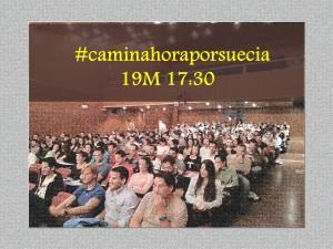 #caminahoraporsuecia