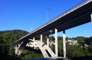 Siggenthalerbrücke, junto a la oficina de Bänziger Partner AG, Baden