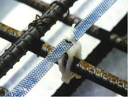 Ánodo de titanio instalados antes del hormigonado para PC de prevención