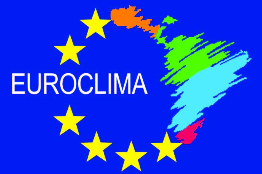 Enlace a EUROCLIMA , programa de cooperación regional entre la Unión Europea y América Latina, enfocado en el cambio climático