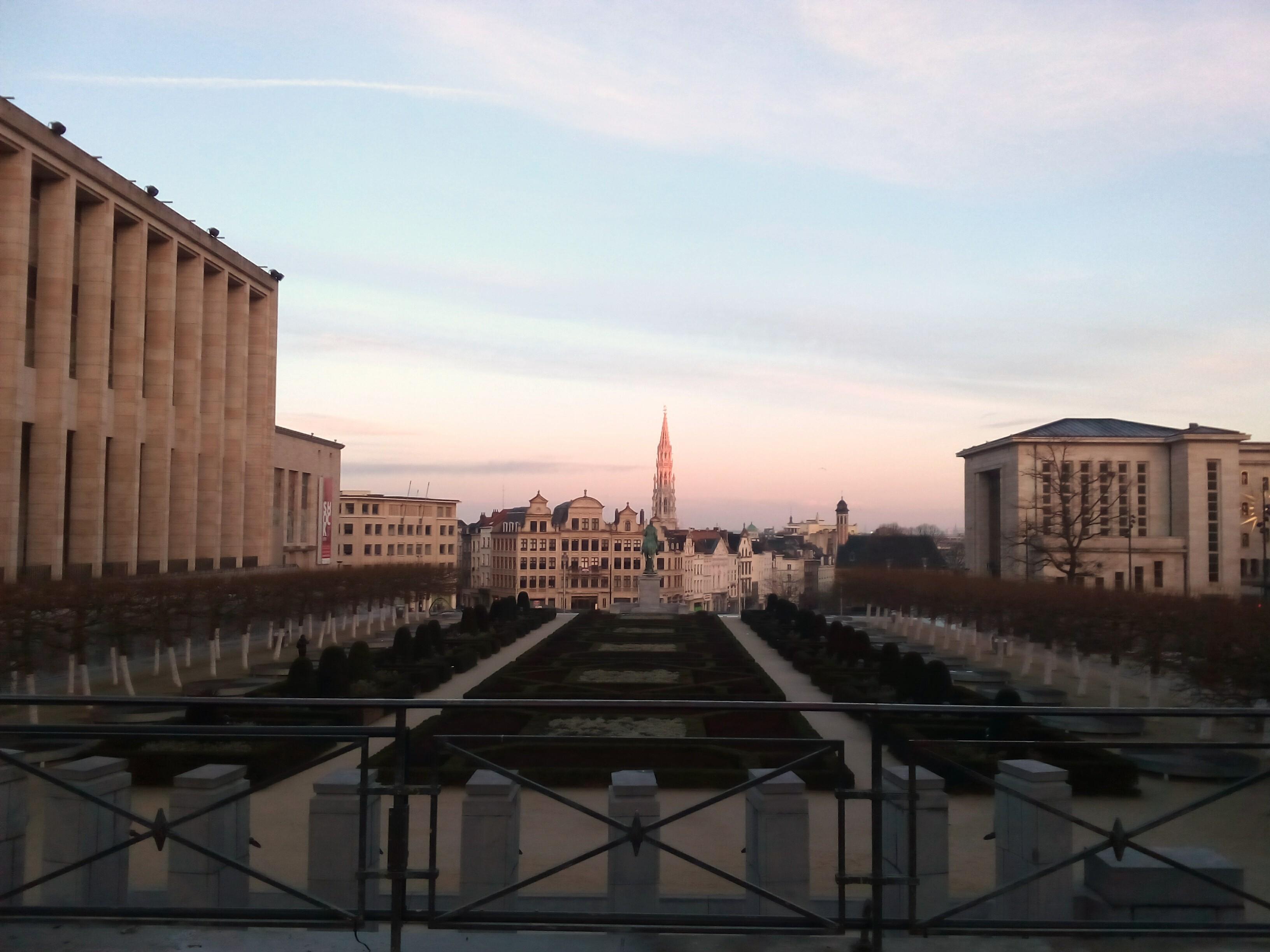 Monte de las Artes en Bruselas