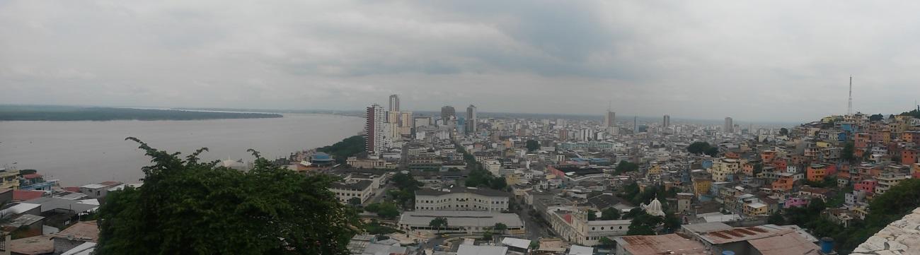 """Guayaquil, popularmente conocida como """"la perla del Pacífico"""""""